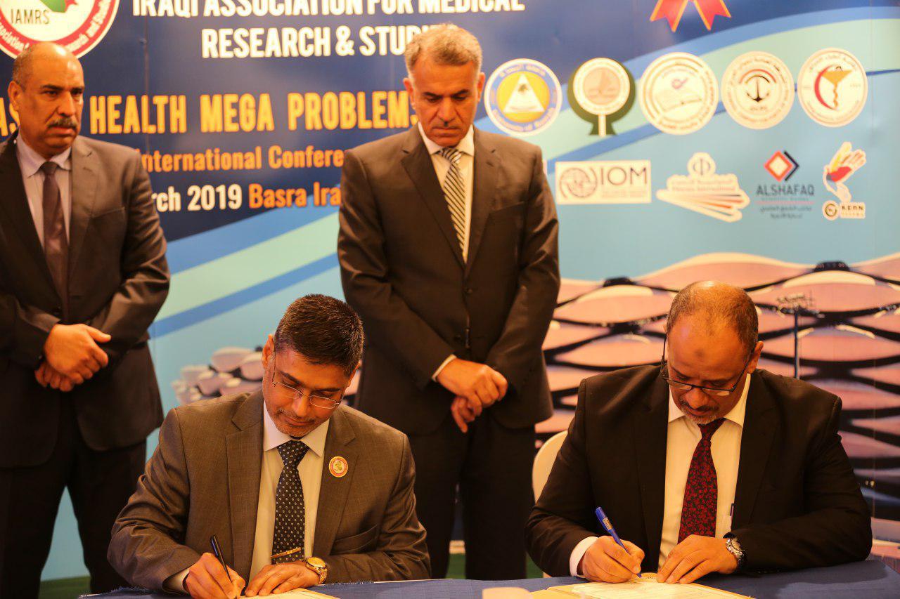 Two Memoranda of Understanding were signed