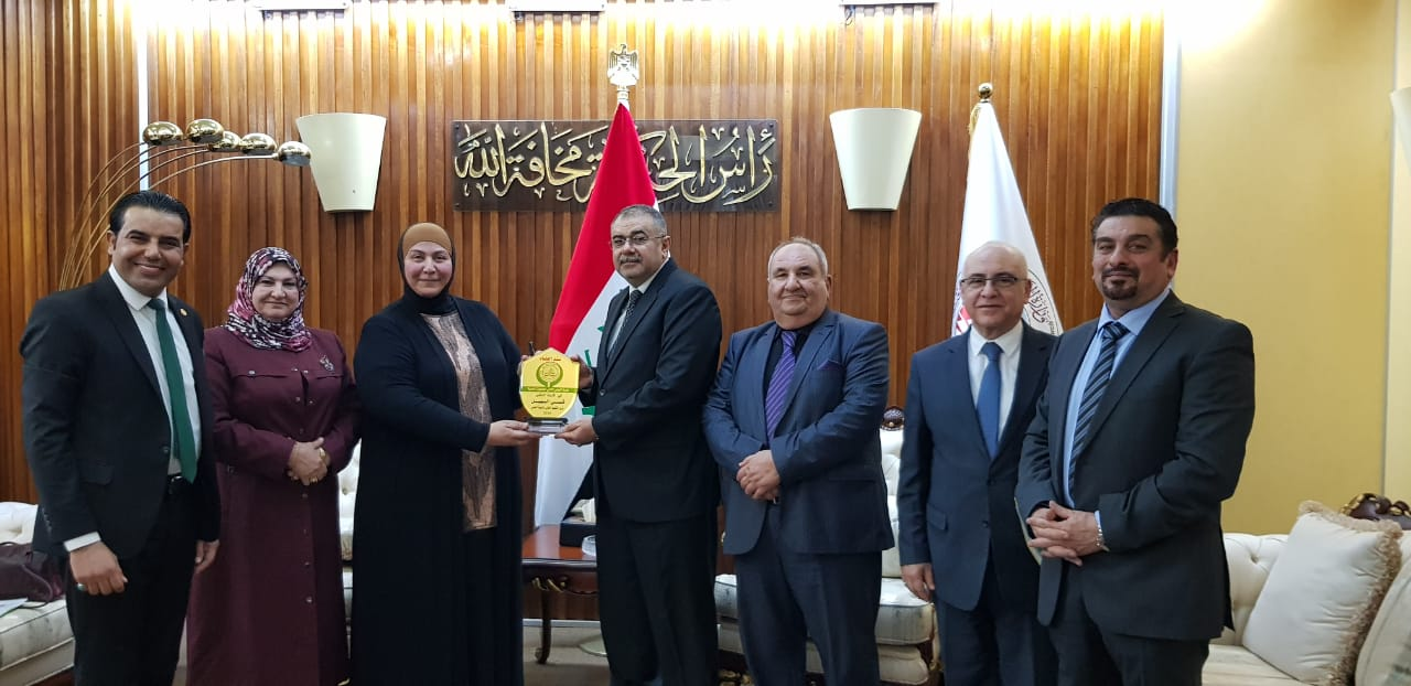 Supreme Council Met the Minister of Higher Education