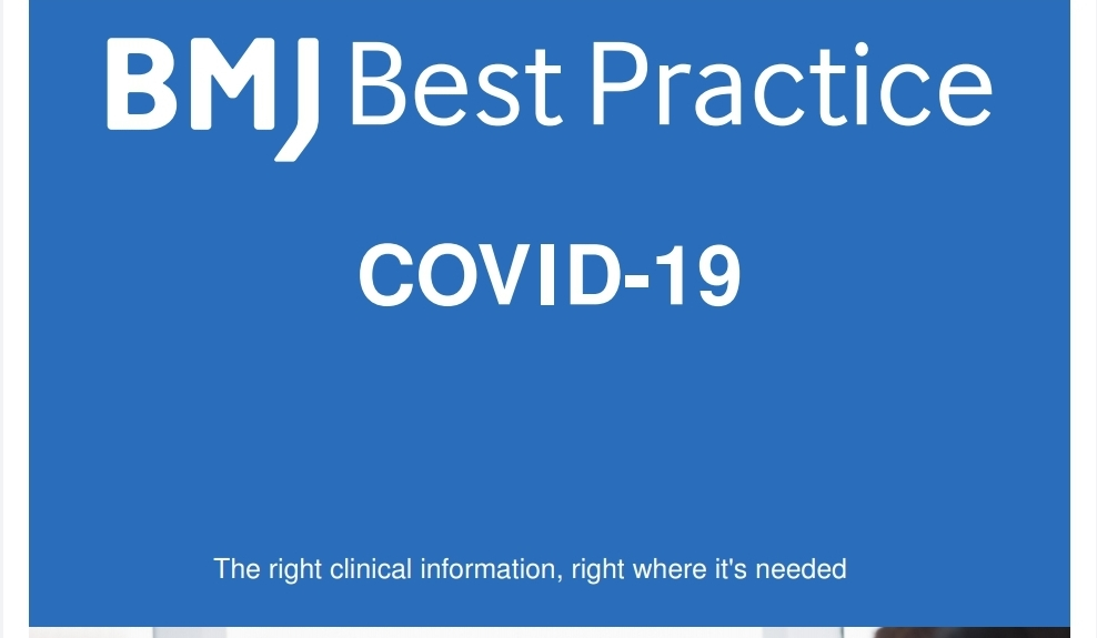 BMJ Best Practices (COVID 19)