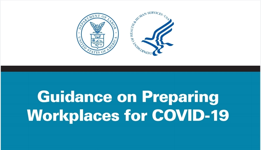 Guidance on Preparing  Workplaces for COVID-19