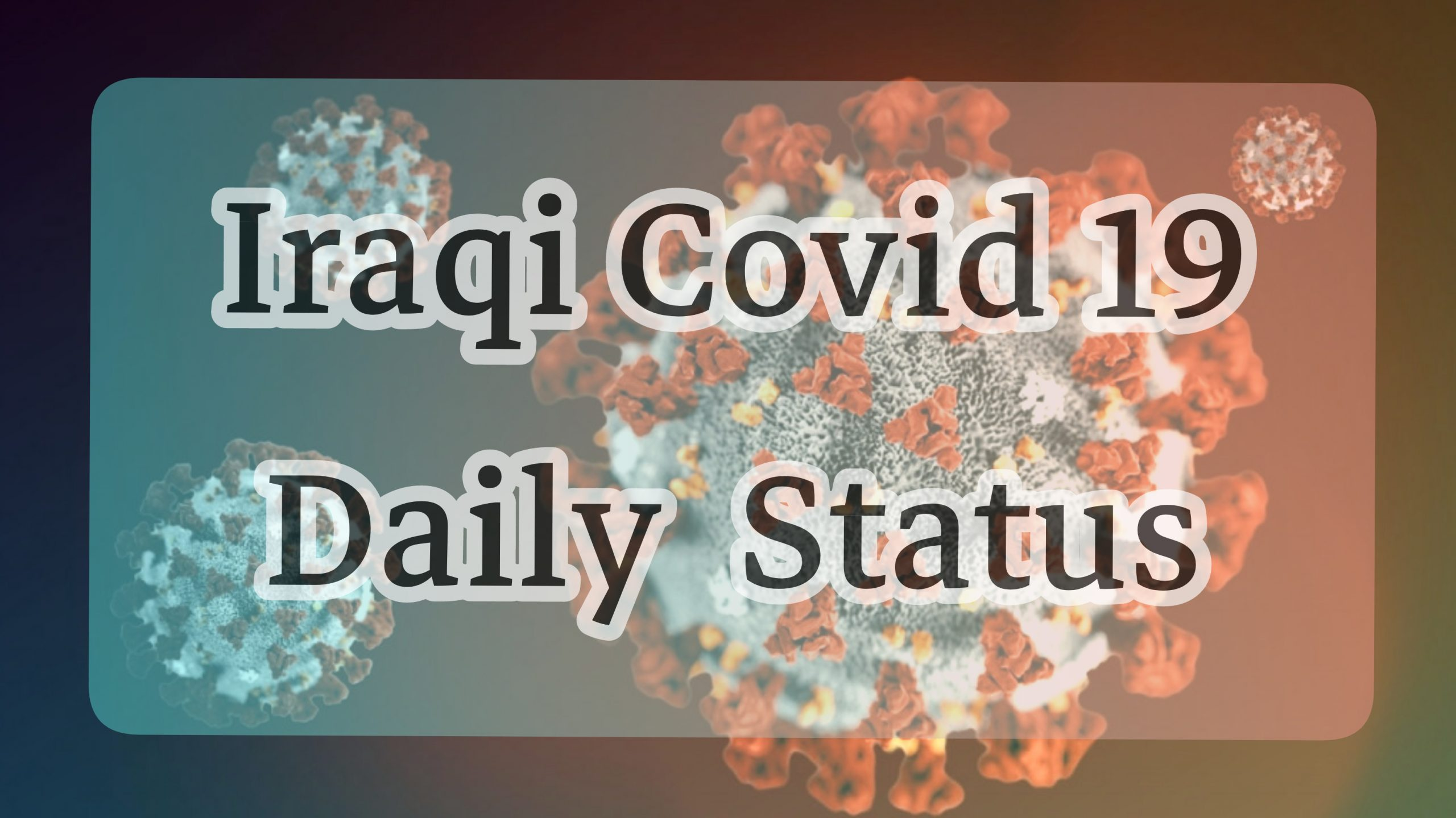 Iraqi Daily COVID-19 Report (8_4_2020)