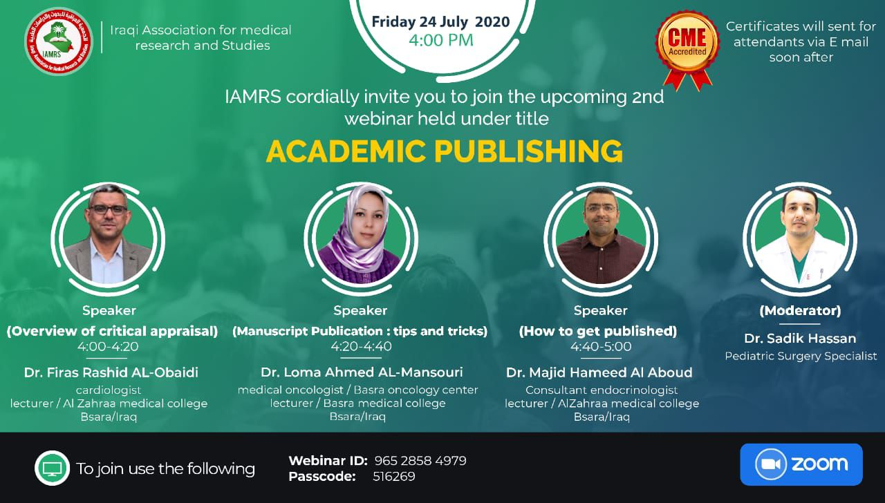 Academic Publishing Webinar